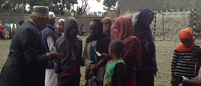 248 needy students got educational support in 3 sub-cities of Addis Ababa.